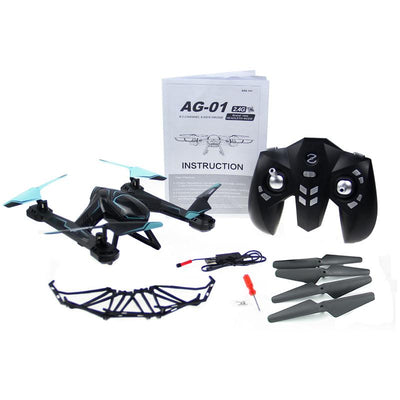 - 2.4G 4CH RC Racing Drone 6 Axis Gyro Remote Control Helicopters 3D Flashing Rollover Professional RC Drone Toys Race Drone -   jetcube