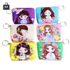 - 1 pcs RoseDiary Women cartoon Coin Purse PU Leather children Wristlet lady Wallet Girl Change Pocket Pouch zipper Bag Keys Case -   jetcube