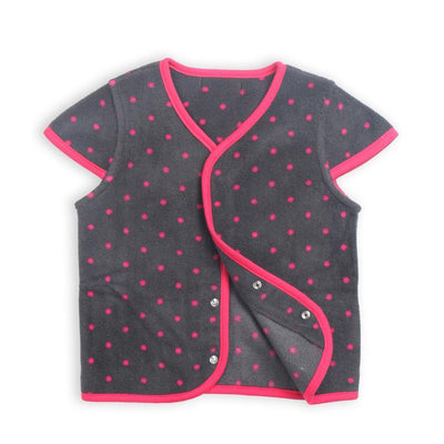 - 0-3 Years-Old Baby Girls Tops Fleece Jacket Toddler Girl Fleece Coat Outerwear in Spring Autumn - Black / 12M  jetcube