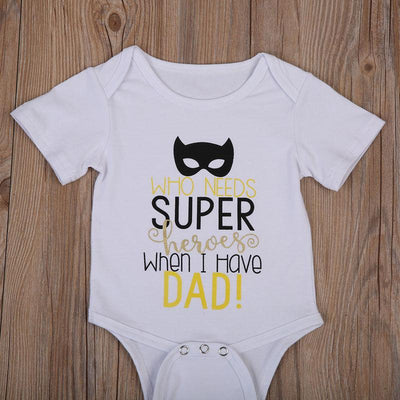 - 0-24M Newborn Baby Boy Girl Romper 2017 Summer Short Sleeve Super Hero Cotton Clothes Jumpsuit Outfits -   jetcube