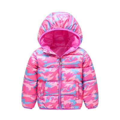 - 2-6 Years Dinosaur Pattern Girls Boys Coats 2017 Outerwear & Coats Fashion Boys Parkas Kids Clothes Warm Down Coats for Boys - 11 / 24M  jetcube