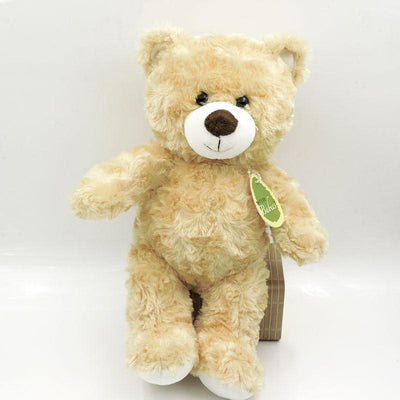 - (1 piece) 30cm Small Cute Teddy Bears Stuffed Animals Soft Plush Toys White Beige Brown Hold Bears Bow/Necklace Randomly Deliver - light brown 18cm / full 30cm  jetcube