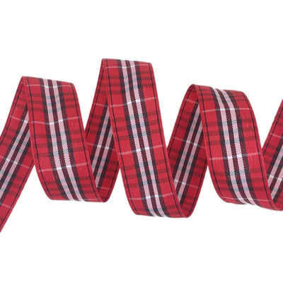 - (5 yards/lot) 25mm Scotish Ribbon Wholesale Lovely gift packing Christmas Ribbons - 25  jetcube
