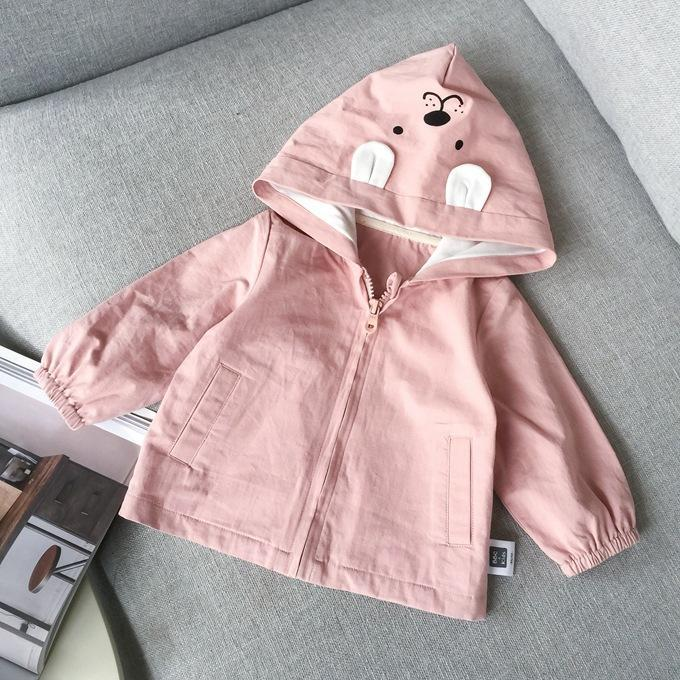 - 0-3 years 2018 New Wholesale Spring Cotton Hooded Baby Jackets 228TP0108 -   jetcube