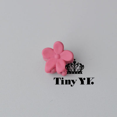 - 10 pcs New Fashion Baby Girls Small Hair Claw Cute Candy Color flower Hair Jaw Clip Children Hairpin Hair Accessories Wholesale - Burgundy  jetcube