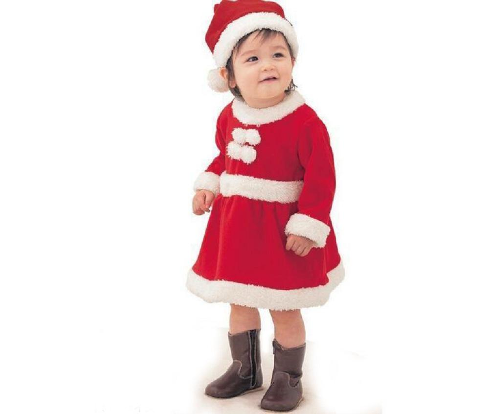 2pcs New Year\'s Costumes for Boys Girls Christmas Baby Clothes Set ...