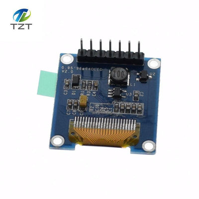0.95 inch full color OLED Display module with 96x64 Resolution,SPI,Parallel Interface,SSD1331 Controller 7PIN new  upcubeshop- upcube
