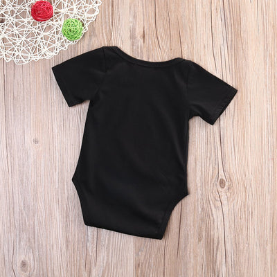 - 0-18M Newborn Baby Girl Boy Clothes Short Sleeve Cotton Bodysuit Jumpsuit Playsuit Outfits Clothes -   jetcube