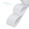 "- (5 meters/lot) 1"" (25mm) White Grosgrain Ribbon Wholesale gift wrap Christmas decoration ribbons - White  jetcube"
