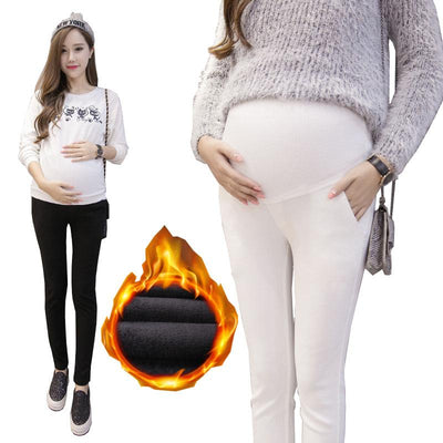 - 17 style! Maternity Pants for Pregnant Women Spring Summer Pregnancy Clothing Winter Warm Cotton Trousers Pregnant Clothes -   jetcube