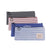 1 PC Canvas Makeup Bag School Supplies Grid Organizer Canvas Pencil Case Cosmetic Pouch Stationery Storage Makeup Bag