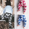 2017 Autumn Clouds Printing Pants Baby Kids Lovely Stretch Trousers Baby Elastic Pants Baby Boys Girls Cotton Pants 0-2 years F1  UpCube- upcube