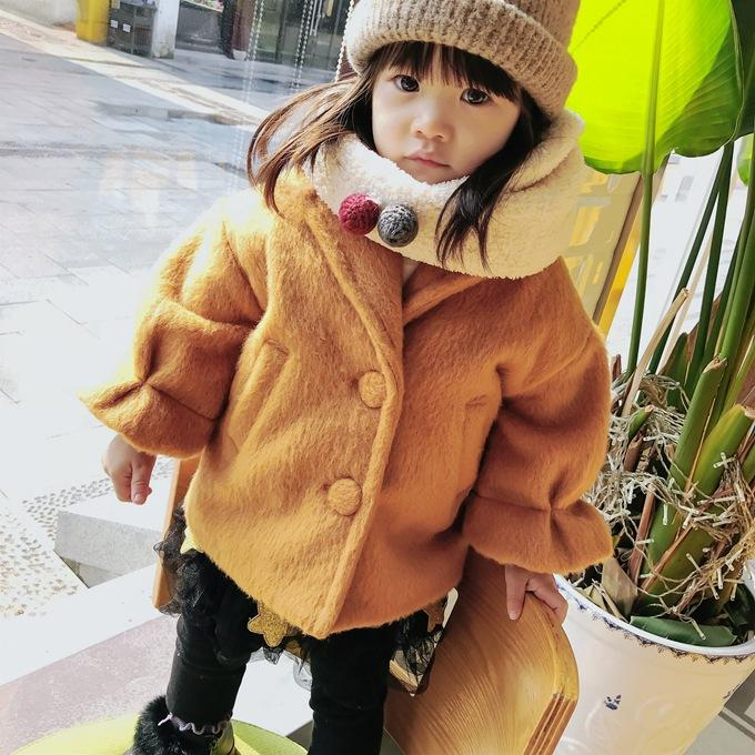 - 0-3 years Wholesale New 2017 Winter Cotton Good Quality Solid Baby Coat - B  jetcube
