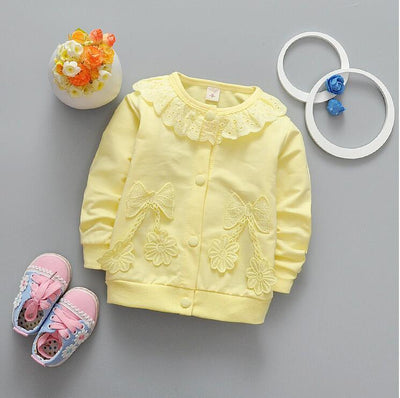 0-2 female baby new fashion autumn cotton long-sleeved clothes + free gift  UpCube- upcube