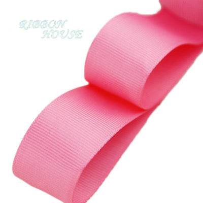 "- (5 meters/lot) 1"" (25mm) Grosgrain Ribbon Wholesale gift wrap Christmas decoration ribbons - Watermelon Red  jetcube"