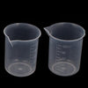 - # 2017 100mL Gra Auate A Aeaker Clear Plastic Measuring Cup for La A 2 Pcs Measuring tool Hol Aer #1031 -   jetcube