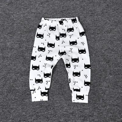 - 0-2T Spring Autumn Baby boy and girl pants Cotton Stripes & Grids &Geometry Printing girl leggings Baby boy trousers Harem pants - Yellow / 12M  jetcube