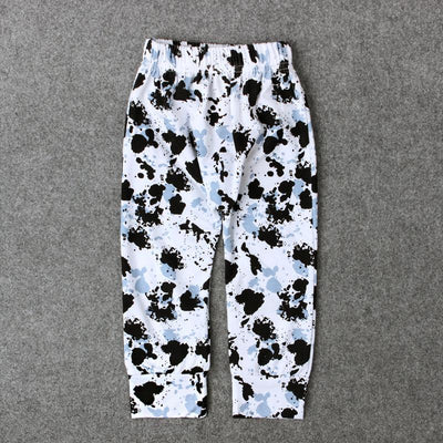 - 0-24M Baby Boy Cartoon Animal Trousers Kids Newbron Dinosaur Leopard Print Infant Toddler Casual Loose Long Pant - TZ217I / 12M  jetcube