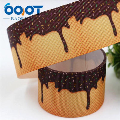 - 1711142,38MM cartoon Printed grosgrain ribbon,DIY handmade jewelry accessories, wedding birthday party gift packaging materials - 4  jetcube