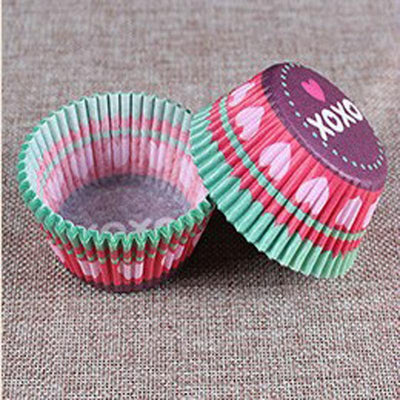 - 100 Pcs Professional Baking Cake Paper Cups Oil Resistant High Temperature about Translucent Paper Cake Cup Bakeware Pastry Tool -   jetcube