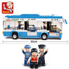 - 0330 City Bus Building Blocks bricks Educational DIY Bricks boys Toys birthdays compatible legoes gift kid set city bus car - Default Title  jetcube