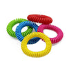 - 10 Pcs/Lot Safe Mosquito Repellent Bracelets Deet Free Waterproof Spiral Wrist Band Outdoor Indoor Insect Protection E2S -   jetcube