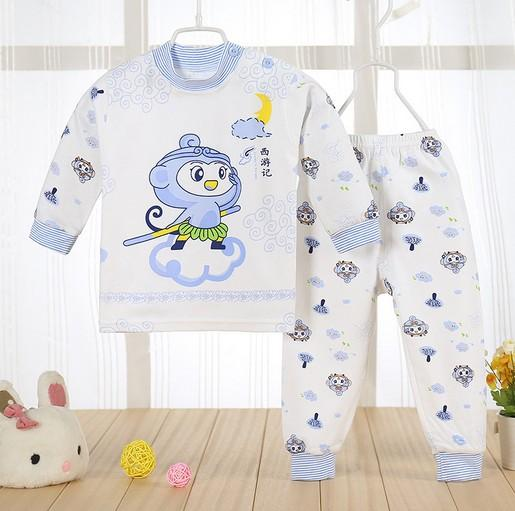 (2pcs/set)cheapest Newborn Baby Clothing Set Brand Baby Boy/Girl Clothes 100% Cotton Cartoon Underwear,Free Shipping NT046