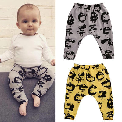 - 0-3Y Baby Leggings Toddler Infant Kids Baby Boy Girl Harem Pants Long Trousers Legging -   jetcube