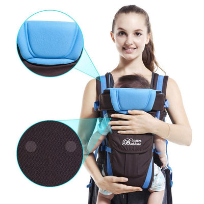 0-24M Breathable Multifunctional Front Facing Baby Carrier Adjustable Newborn Sling Portable Backpack Pouch kid carriage wrap  UpCube- upcube