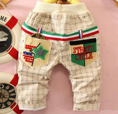 - (1piece /lot) 100% cotton 2015 new lucky trousers for children -   jetcube
