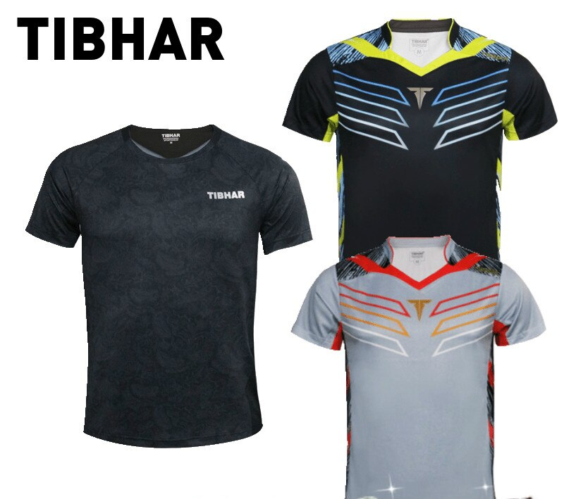 original TIBHAR Super light table tennis jersey  Men and Women Ping Pong Cloth Sportswear Training T-Shirts Group purchase