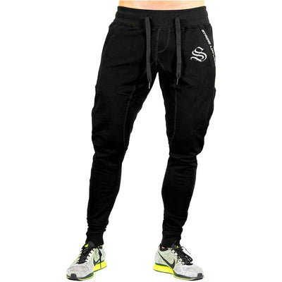 2017 Autumn New Sweatpants Men Solid Workout Bodybuilding Clothing Casual GYMS Fitness Sweatpants Joggers Pants Skinny Trousers