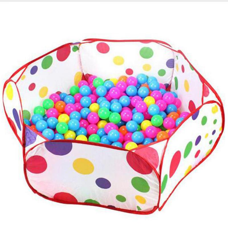 Baby Playpen 1m 1.2m 1.5m Safety Playpens Tents with Basketry Kids Play Tent Baby Mesh Indoor Stress Ocean Ball Pool Play Yard  UpCube- upcube