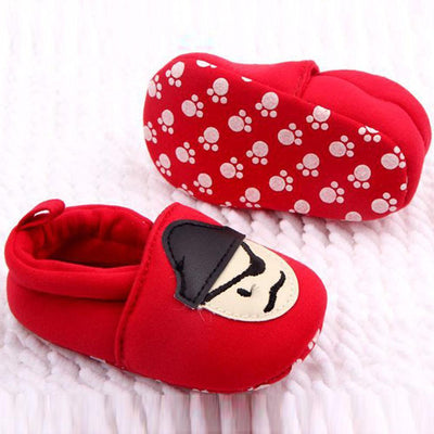 - 0-12M Toddler Baby Skull Pirate Printed Casual Shoes Soft Bottom Girl Boys Shoes New Sales - Red / 1  jetcube