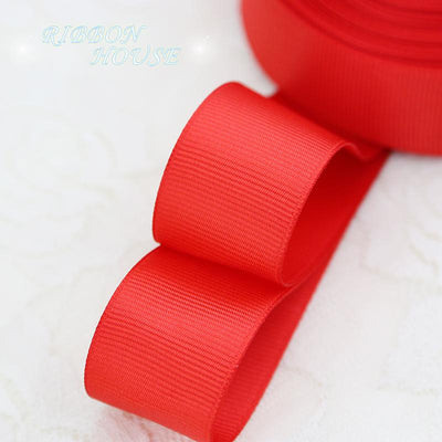 "- (5 meters/lot) 1"" (25mm) Grosgrain Ribbon Wholesale gift wrap Christmas decoration ribbons -   jetcube"