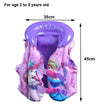- 2-5Ys Girl Swim Vest Child Life Vest for Fishing Baby Floating Vest Jacket Inflatable Flamingo Donut Swan Swimming Ring Circle -   jetcube