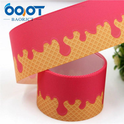 - 1711142,38MM cartoon Printed grosgrain ribbon,DIY handmade jewelry accessories, wedding birthday party gift packaging materials - 9  jetcube