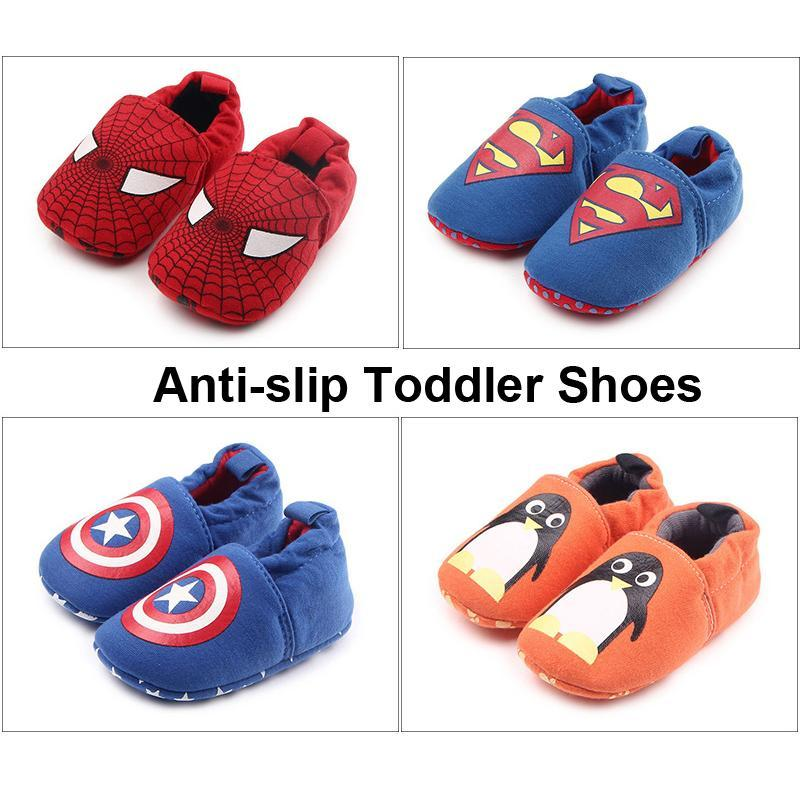 FEITONG Lovely Toddler Baby First Walkers Shoes Round Toe Flats Soft Slippers