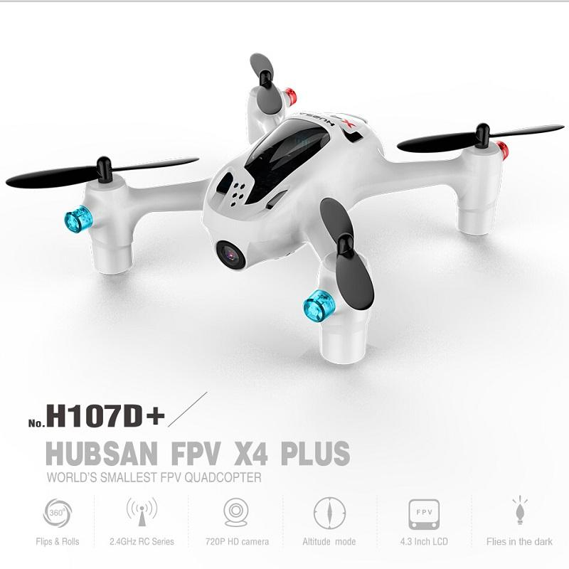 - (In stock ) Original Hubsan FPV X4 Plus H107D+ ( H107D Plus) with 720P HD Camera 6-axis Gyro RC Quadcopter RTF - Default Title  jetcube