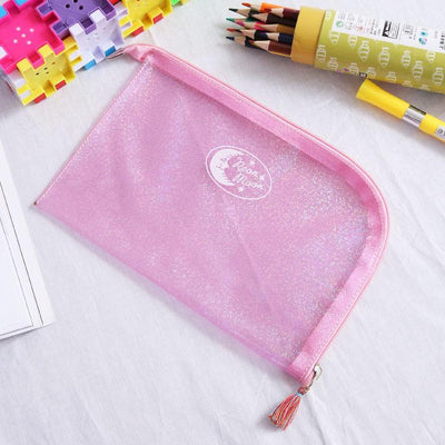 - (1pc/sell) Envelope Moon Star Point Womens Travel Cosmetic Bags High Quality Makeup Bag Make Up Bag Neceser Luxury Famous Brands -   jetcube