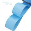 "- (5 meters/lot) 1"" (25mm) Grosgrain Ribbon Wholesale gift wrap Christmas decoration ribbons - Light Blue  jetcube"