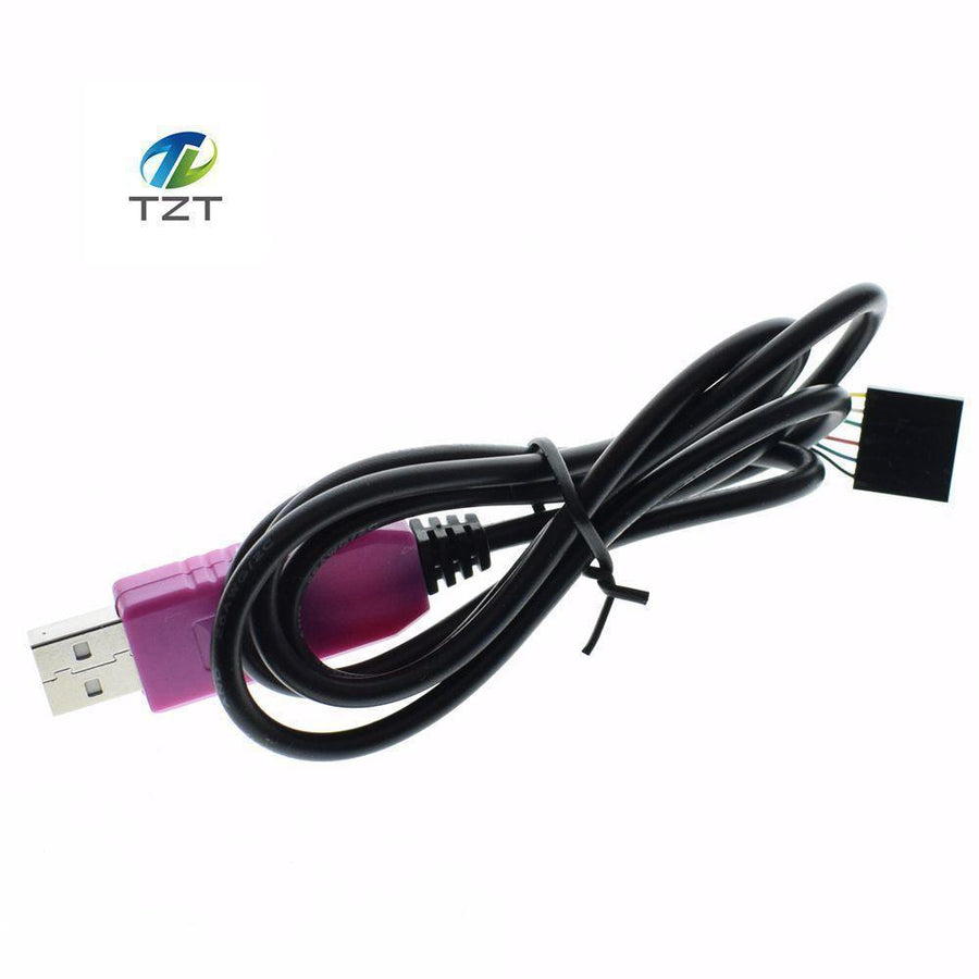 1PCS TZTPL2303 HXD 6Pin USB TTL RS232 Convert Serial Cable PL2303HXD Compatible Win XP/VISTA/7/8/8.1/Android OTG good  upcubeshop- upcube