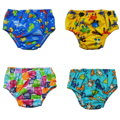 - (20pcs A Lot ) Three sizes for Washable Reusable Baby Swimming Diaper Swimming Pant Swim Diaper Top Quality - Default Title  jetcube