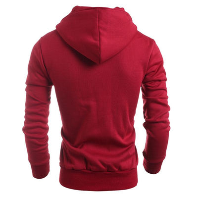 2017 Autumn Brand Clothing Hooded Sweatshirt Men New Fashion Hoodies Men Double Breasted Black Hoodie Men Cool Sudaderas Hombre  dailytechstudios- upcube