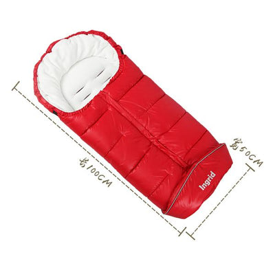 - 0 to 36M Baby stroller sleeping bag,baby stroller footmuff, winter Bunting bag & bebek uyku tulumu footmuff for a stroller -   jetcube