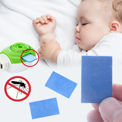 - 10 pcs/lot Anti Insect Mosquito Repellent Tablet Safety Mildly Toxic Household Mat -   jetcube