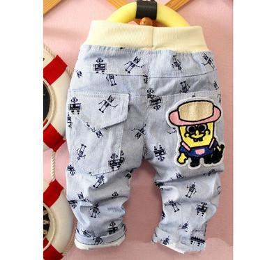 - (1piece /lot) 100% cotton 2016 new autumn big hat trousers for children (0-3 year old ) -   jetcube
