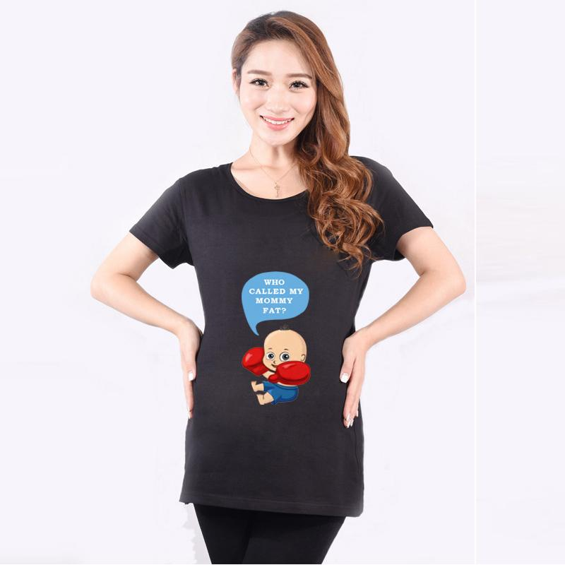 HOT Sale Summer Funny Pregnancy T Shirts For Pregnant Women ...