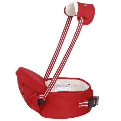 - 0-36m Ergonomic Baby Carrier Waist Stool Kangaroo Suspenders Backpack Baby Sling Hipseats Kids Infant Waist Straps Hip Seat Warp - Red / OneSize  jetcube