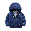 - 2-6T Baby Boys Girls Jacket Coats 2017 Summer Cars Printing Hooded Boys Jackets Fashion Boys Clothing Outwear&Coats for Kids - Blue / 24M  jetcube